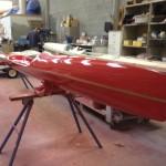 Red Surf Ski
